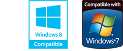 Windows 8 Compatible/Compatible with Windows 7
